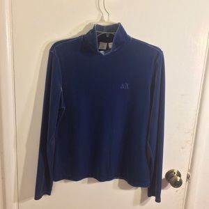 AlX Armani Exchange Velvet Turtleneck